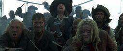 Barbossa et les mutins