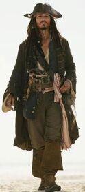 Jack Sparrow dans Pirates des Caraïbes 3