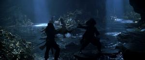 Fight on Isla de Muerta 4