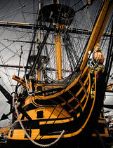 457px-HMS Victory - bow