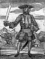 453px-General History of the Pyrates - Blackbeard the Pirate (1725)