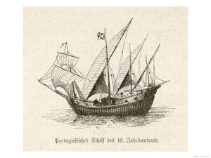 Portuguese-caravel