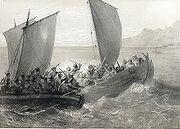 220px-Cotes de la Mer Noire. Cosaques d'Azof abordant un corsaire Turc. (1847)