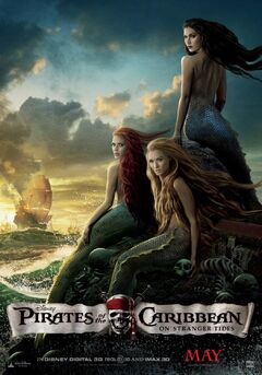 Pirates 4 mermaid poster