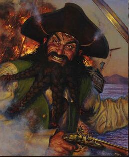 Blackbeard by Don Maitz