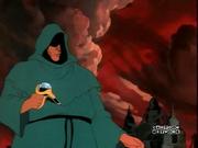 Dark Disciple weilding dark water gun