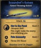 Scoundrel's Knives
