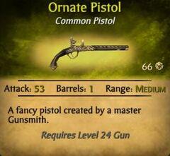 OrnatePistol