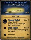 Halk idol knife