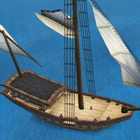 War Sloop deck