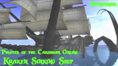 Video Potco Kraken Sinking Ship Soundtrack Unreleased