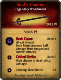 Soul's Shadow card