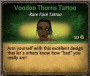 Voodoo thorns tattoo