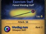Exorcism Staff