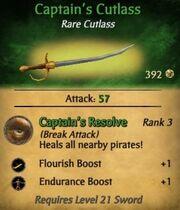 Captain's Cutlass