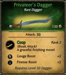 Privateer's Dagger Card