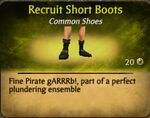 Recruit Short BootsF