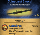 Spinecrest Sword