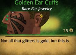 Golden Earcuffs