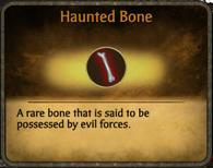 Haunted Bone Material