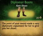 Diplomat boots