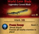 World Eater Blade