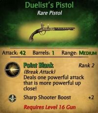 Duelist Pistol