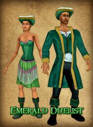 Emerald-duelist