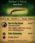 Robbers Pistol