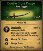 Double Cross Dagger