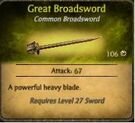 Great Broadsword