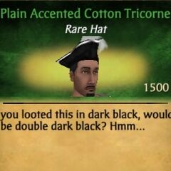 Accented Tricorne