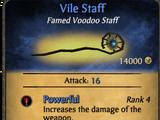 Vile Staff
