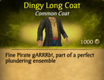 Dingy Long Coat