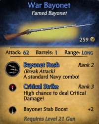 War Bayonet Clearer