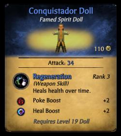 Conquistadordollclearer