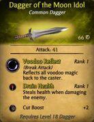 Dagger of the Moon Idol