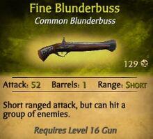 Fine Blunderbuss