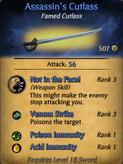 Assassin's Cutlass - clearer