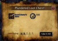 Famed in a loot chest