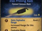 Iron Priming Ram