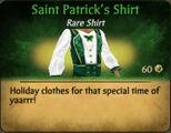 M Saint Patrick's Shirt