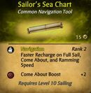 Sailor's Sea Chart