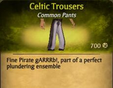 Celtic Trousers