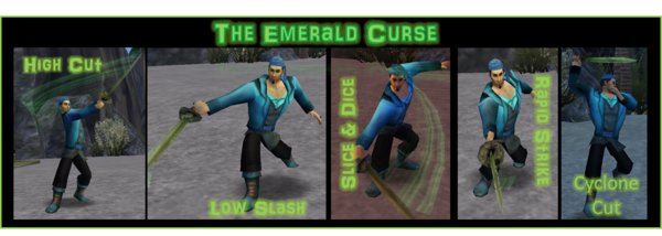 Emerald Curse Moves