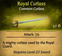 Royal Cutlass