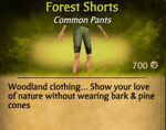 F Forest Shorts