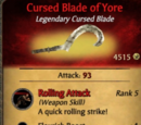Cursed Blade of Yore