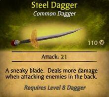 SteelDagger