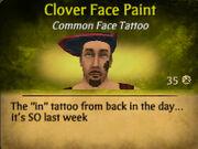 CloverFaceTat